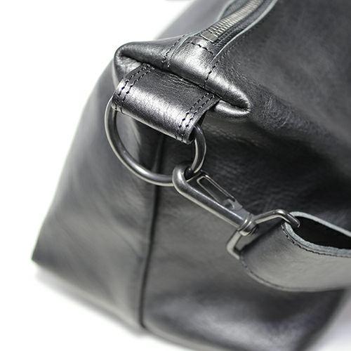 アリゾナレザー ショルダーバッグ M -BLACK-