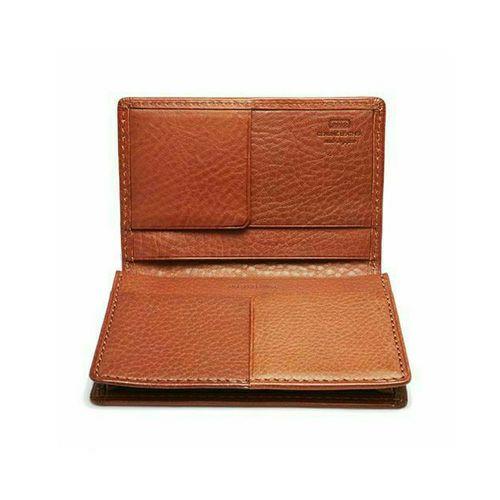 アリゾナレザーカードケース -BROWN- / 財布・革財布