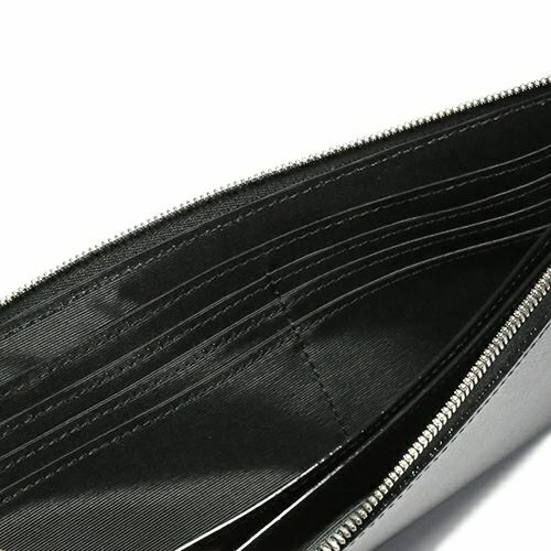 【JAM HOME MADE(ジャムホームメイド)】沖嶋 信 - SO (Shin Okishima) モデル ロングウォレット / 長財布 メンズ ブランド 人気 おすすめ 牛革 ブラック シンプル ギフト 誕生日 機能性 長財布 ファスナー