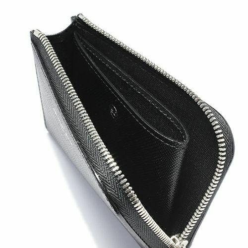 【JAM HOME MADE(ジャムホームメイド)】沖嶋 信 - SO (Shin Okishima) モデルウォレット -mini BLACK- メンズ ブランド 人気 おすすめ 牛革 ブラック シンプル コンパクト ギフト 誕生日 機能性 長財布 ファスナー