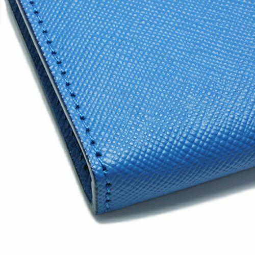 【JAM HOME MADE(ジャムホームメイド)】沖嶋 信 - SO (Shin Okishima) モデルウォレット -mini BLUE- / ミニウォレット メンズ ブランド 人気 おすすめ レザー/革 シンプル コンパクト ギフト 誕生日 機能性 長財布 ファスナー