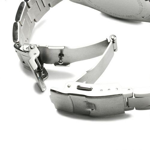 【JAM HOME MADE(ジャムホームメイド)】ダイヤモンドジャムウォッチ TYPE C -SILVER- / 腕時計 メンズ 色 シルバー クロノグラフ クォーツ 10気圧 生活防水 20mm