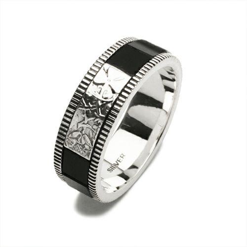 指輪 / ハッピーリング M -ONYX-