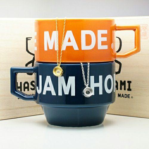 【JAM HOME MADE(ジャムホームメイド)】波佐見焼 HASAMI スタックネックレス SET