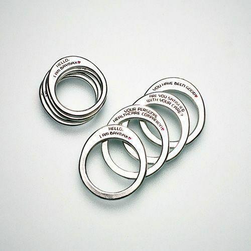 【JAM HOME MADE(ジャムホームメイド)】ベイマックス 『BAYMAX』 スピーチリング S / 指輪