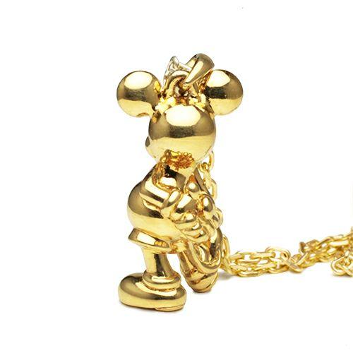 """ネックレス / ミッキー""""MICKEY"""" ネックレス TYPE 1 -K18YG- メンズ レディース ゴールド 人気 おすすめ ブランド ディズニー チェーン ダイヤモンド"""