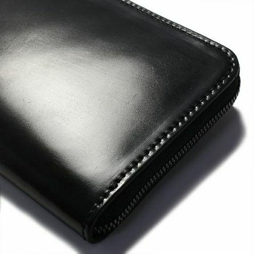 シェルコードバンファスナーロングウォレット / 長財布