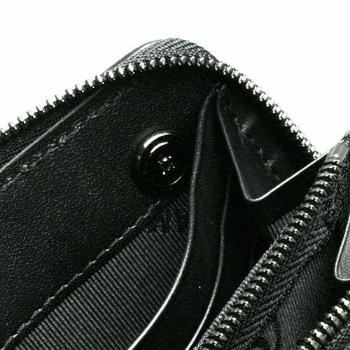 【JAM HOME MADE(ジャムホームメイド)】シェルコードバンファスナーロングウォレット / 長財布 メンズ ブランド 人気 おすすめ 使い始め 馬革 ブラック シンプル プレゼント ギフト 誕生日 機能性 ウォレットチェーン 希少