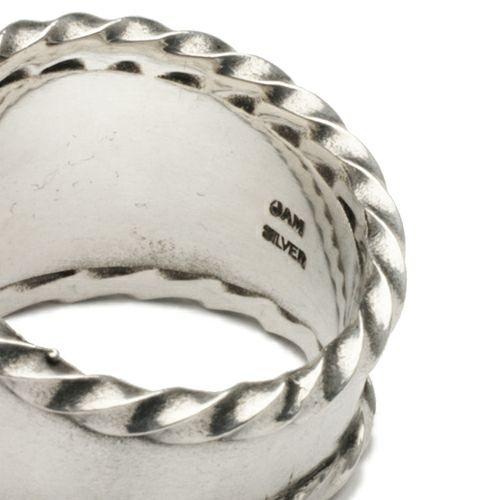 【JAM HOME MADE(ジャムホームメイド)】シープリング -New Year Collection- / 指輪 メンズ シルバー 925 干支 羊 ごつい ネイティブ