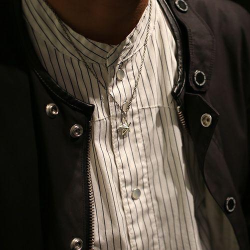 ネックレス / スケルトンスタースタッズネックレス メンズ レディース ペア シルバー チェーン 人気 ブランド おすすめ ギフト プレゼント 誕生日 シンプル