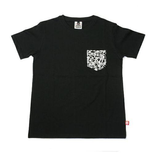 """【JAM HOME MADE(ジャムホームメイド)】パンクドランカーズ/PUNK DRUNKERS セーフティピン Tシャツ """"OTONA"""" -BLACK-"""