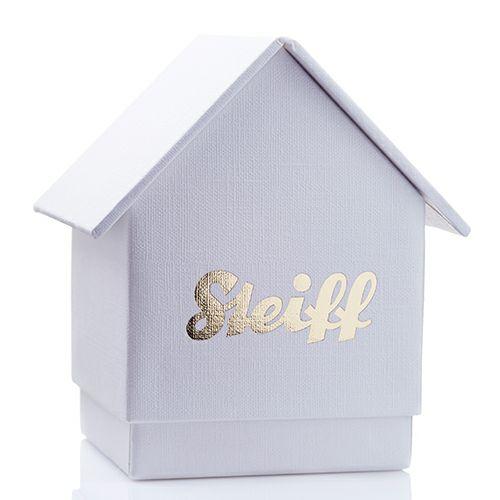"""シュタイフ """"Stieff"""" ベビーベアリングネックレス -K18WHITEWGOLD-"""