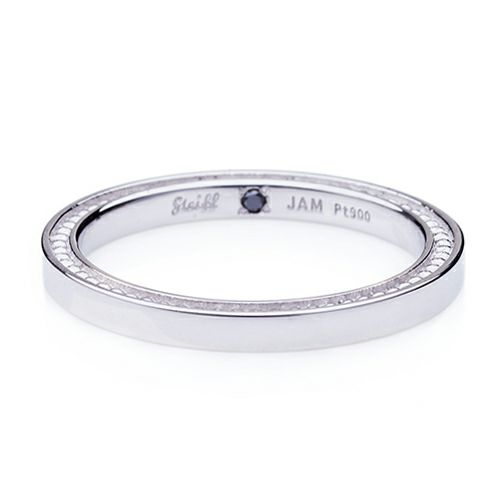 "【JAM HOME MADE(ジャムホームメイド)】シュタイフ ""Stieff"" マリッジベアリング M -PT900- / 結婚指輪・マリッジリング ウエディングリング"