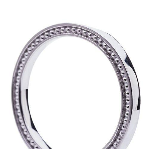 """シュタイフ """"Stieff"""" マリッジベアリング M -PT900- / 結婚指輪・マリッジリング"""