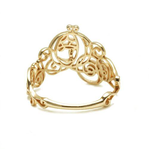 """指輪 / シンデレラ - """"Cinderella"""" かぼちゃの馬車リング レディース ゴールド ピンク 人気 おすすめ ブランド ディズニー コラボ"""