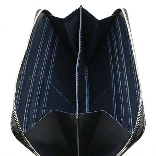 長財布 / 松本博幸モデル - 「松」 MODEL -CARF- メンズ レザー カーフ ブラック 薄型 シンプル カード お手入れ 丈夫 プレゼント ギフト スーツ