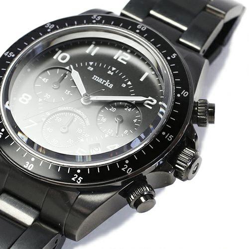 マーカ/marka ダイヤモンドウォッチ -BLACK- / 腕時計