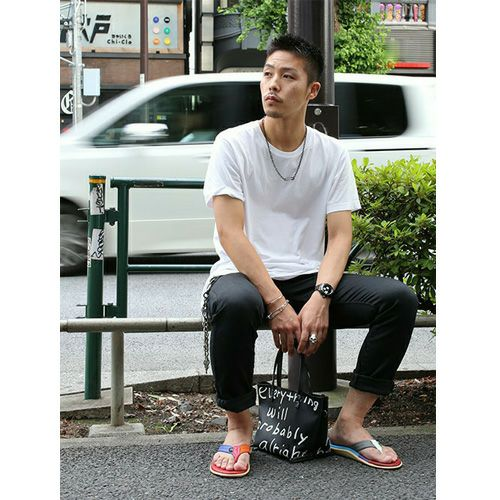 【JAM HOME MADE(ジャムホームメイド)】MADSAKI BLACKRIDE TOTEBAG XS