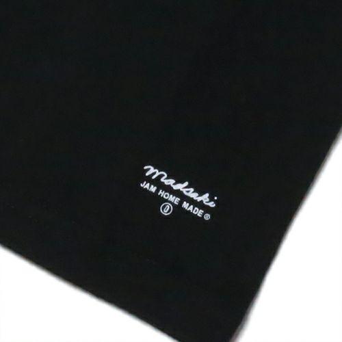 【JAM HOME MADE(ジャムホームメイド)】MADSAKI MESSAGE Tシャツ KIDS -BLACK- 子供服 キッズ ブラック マッドサキ ペアルック 言葉遊び