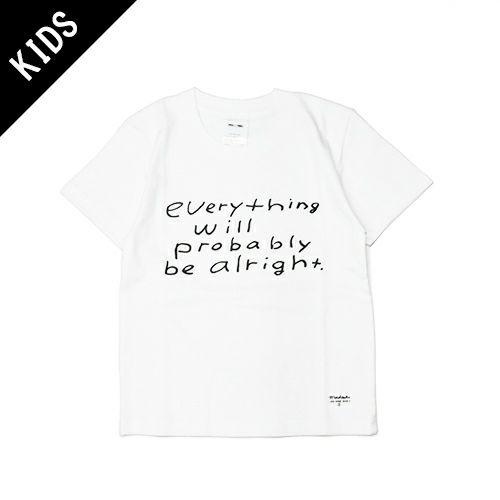 【JAM HOME MADE(ジャムホームメイド)】MADSAKI MESSAGE Tシャツ KIDS -WHITE- 子供服 キッズ ホワイト マッドサキ ペアルック 言葉遊び