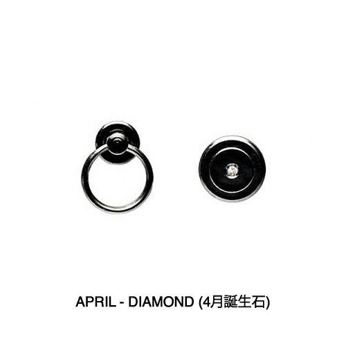 二つ折り財布 / 4月 誕生石 ダイヤモンド パンチングミディアムウォレット -LaVish- メンズ 革 ブラック 人気 おすすめ ブランド 使い始め ヌメ革 シンプル プレゼント ギフト 誕生日 機能性 ウォレットチェーン