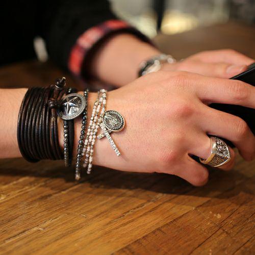 ネックレス / グラム/glamb ロザリオ×シープヘッズマリア ネックレス -WHITE-