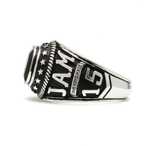 指輪 / NUMBER(N)INE/ナンバーナイン カレッジグリング メンズ シルバー 925 人気 おすすめ ブランド 本場 アメリカ 職人 スクールリング