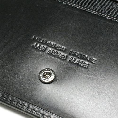 ナンバーナイン/NUMBER(N)INE クロスセミロングウォレット / 二つ折り財布