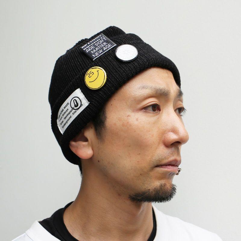 CA4LA/カシラ JAM SHOP ニットキャップ -BLACK- / 洋服小物