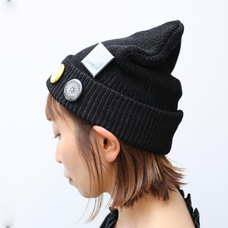 帽子 / CA4LA/カシラ JAM SHOP ニットキャップ -BLACK- メンズ レディース ユニセックス 人気 おすすめ ブランド 帽子 コラボ オールシーズン対応