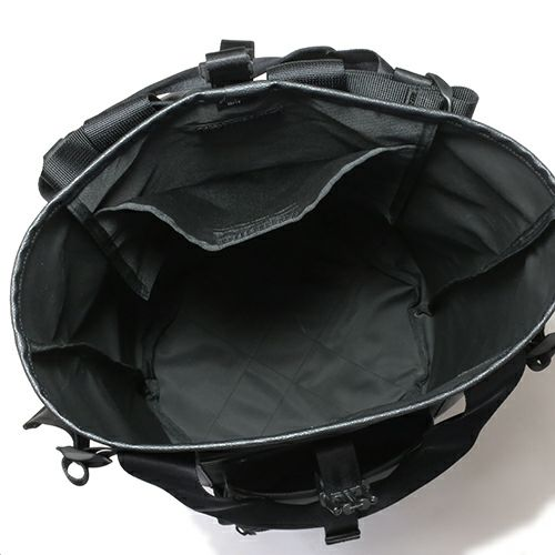 旅行用カバン / ポーター/PORTER 2WAY UNION ユニオン バックパック -バースストーン- / リュック メンズ レディース ユニセックス リュック デイパック コーデュラ PVC ブラック 旅行 アウトドア 人気 ブランド おすすめ