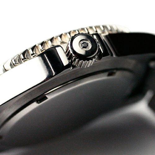 【JAM HOME MADE(ジャムホームメイド)】ジャムダイヤモンドウォッチ TYPE M LEATHER BAND / 腕時計  メンズ 色 ブラック レザー ダイヤモンド クォーツ 10気圧 アナログ 日付表示 ミリタリー マリン 生活防水 20mm