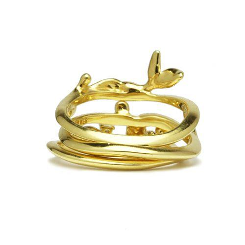 """指輪 / リトルマーメイド - """"The Little Mermaid"""" アリエルリング -GOLD- レディース シルバー ダイヤモンド 人気 おすすめ コラボ ディズニー トリプル ピンキー ファランジ"""