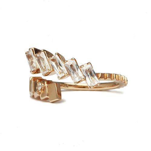 """シンデレラ - """"Cinderella"""" ガラスの靴リング -PINK GOLD- / 指輪"""