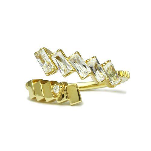 """シンデレラ - """"Cinderella"""" ガラスの靴リング -GOLD- / 指輪"""