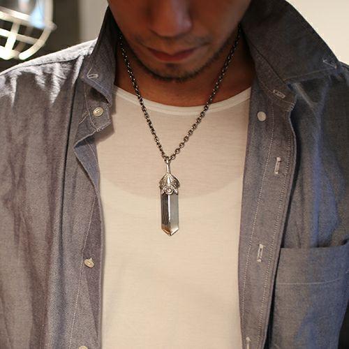 ネックレス / NEO X ネックレス L メンズ シルバー 925 チェーン シンプル ダガー モチーフ 人気 ブランド おすすめ プレゼント シンプル