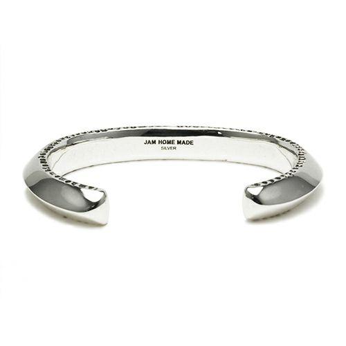 【JAM HOME MADE(ジャムホームメイド)】NEO X バングル M / ブレスレット  メンズ シルバー 925 ボリューム 太め ブランド 人気 おすすめ ごつめ シンプル