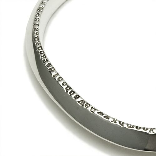 ブレスレット / NEO X バングル S  メンズ シルバー 925 ボリューム 太め ブランド 人気 おすすめ ごつめ シンプル