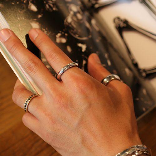 【JAM HOME MADE(ジャムホームメイド)】NEO X リング S / 指輪 メンズ レディース シルバー 925 ペア 人気 おすすめ ブランド オリジナル ごつめ