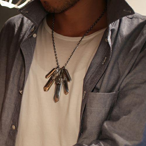 【JAM HOME MADE(ジャムホームメイド)】NEO X ネックレス SET メンズ シルバー 925 チェーン シンプル ダガー モチーフ 人気 ブランド おすすめ プレゼント シンプル