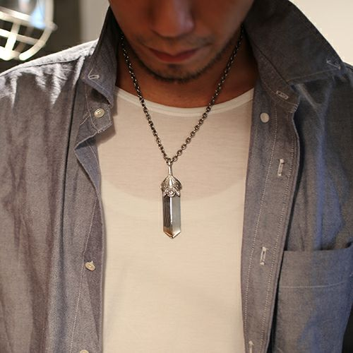 【JAM HOME MADE(ジャムホームメイド)】NEO X ネックレス TOP L メンズ シルバー 925 チェーン シンプル ダガー モチーフ 人気 ブランド おすすめ プレゼント シンプル