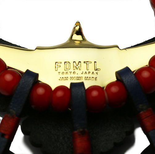ファンダメンタル/FDMTL レザーイーグルネックレス
