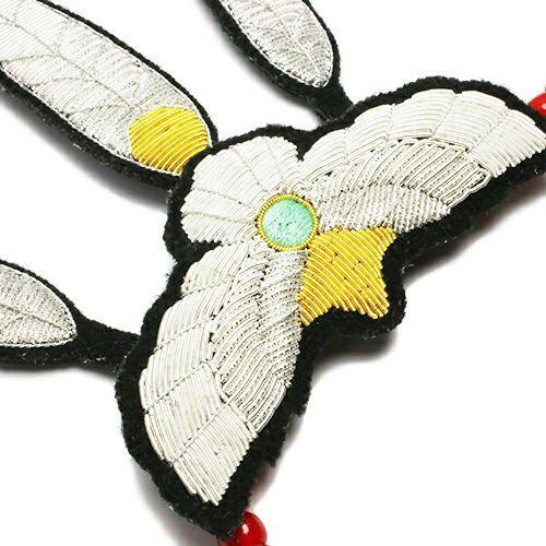 ファンダメンタル/FDMTL イーグルネックレス -embroidery-