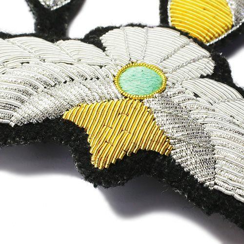【JAM HOME MADE(ジャムホームメイド)】ファンダメンタル/FDMTL イーグルネックレス -embroidery-