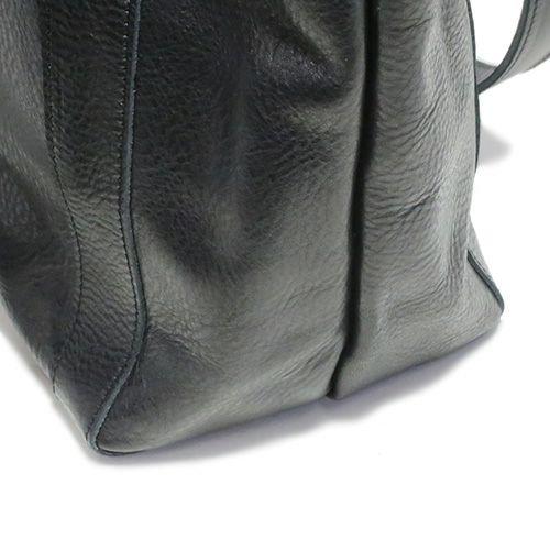 旅行用カバン / アリゾナレザートートバッグ -BLACK- メンズ レディース 人気 おすすめ ブランド ユニセックス イタリアンレザー 肩掛け ボディバック 旅行 艶