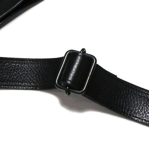 アリゾナレザーサコッシュ -BLACK- / リュック・バッグ
