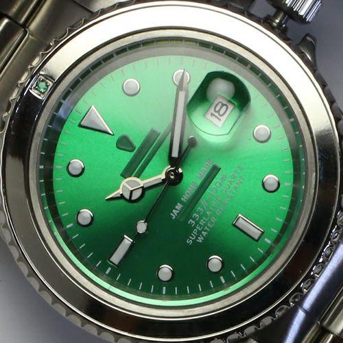 エメラルドジャムウォッチ -SILVER- / 腕時計