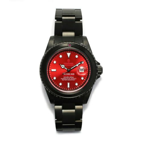 ルビージャムウォッチ -BLACK- / 腕時計