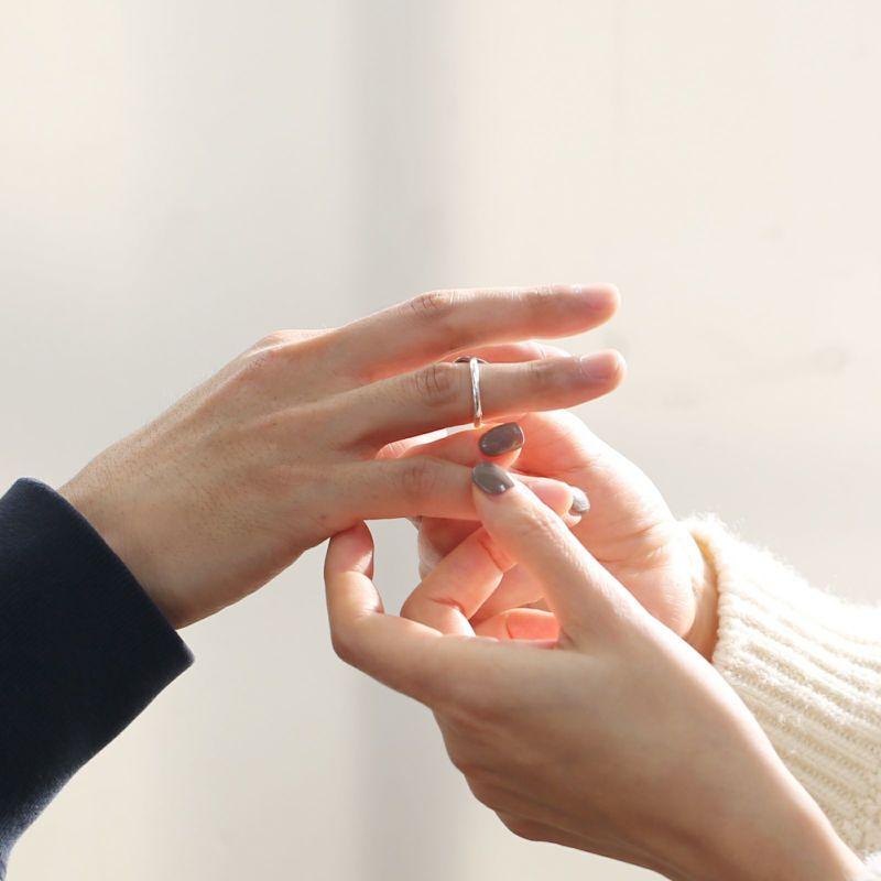 【ジャムホームメイド(JAMHOMEMADE)】名もなき指輪キット - NAMELESS RING KIT - シルバー925 /ペアリング