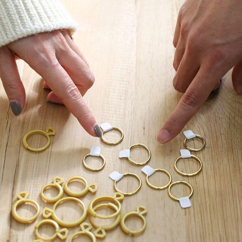 ペアリング / 名もなき指輪キット - NAMELESS RING KIT -BRASS- メンズ レディース ペア 人気 ブランド おすすめ 手作り オリジナル 記念日 ペアリングキット